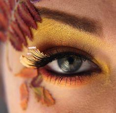 Contributor: Jangsara:http://jangsara.blogspot.com/ Products Used: Sun Yellow - Lower lashline, inner corner, highlight (MakeupGeek Store) Aztec Gold -