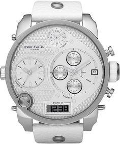 Diesel Sba in White for Men digi multi movment watch.