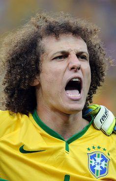 David Luiz: | Los jugadores brasileños antes y después de su derrota aplastante