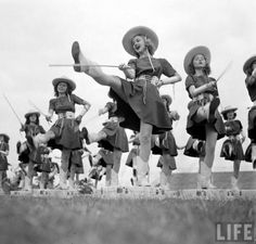 The Kilgore Rangerettes, founded by Miss Gussie Nell Davis