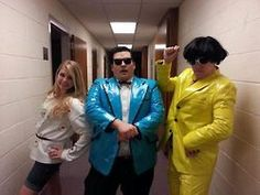 well i guess gangnam style is  still in style for halloween-halloween costume