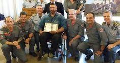 André Rocha recebe homenagens do Ministério da Defesa e PMESP   Infotau Vale