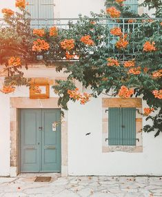 Beautiful doors and flowers, travel wanderlust inspiration Flower Aesthetic, Aesthetic Photo, Travel Aesthetic, Aesthetic Pictures, Orange Aesthetic, Aesthetic Drawings, Aesthetic Women, Aesthetic Style, Summer Aesthetic