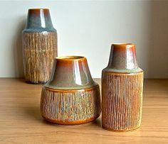 Potshots: Retro Danish pottery--Soholm vases