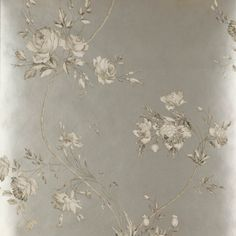 Darcy Wallpaper, pewter - Cowtan & Tout Design Library