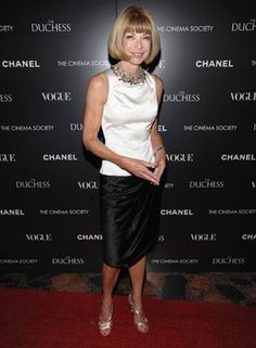 Anna Wintour - The Cinema Society with Chanel and Vogue Host a Screening of The Duchess
