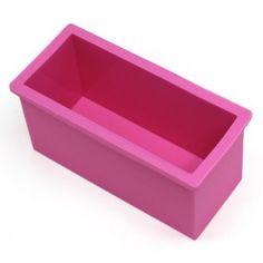 Molde rectangular para #hacerjabón casero de glicerina y jabón de aceite. #DIY