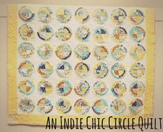Simple Simon & Company: Indie Chic Circle Quilt: A Bulls Eye Quilt Tutorial