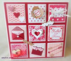 62 trendy ideas for birthday diy box valentines day Love Valentines, Valentine Crafts, Valentine Day Cards, Birthday Diy, Handmade Birthday Cards, Birthday Card Sayings, Valentine Decorations, Paper Cards, Creative Cards