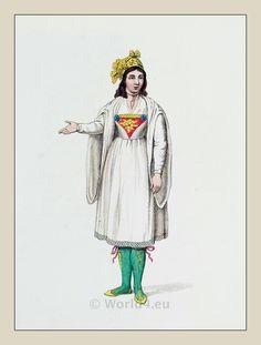 The Costume of Turkey. Ottoman Empire Costume of Naxos-Octavien Dalvimart Jewish Men, Muslim Men, Arab Fashion, Fashion History, Official Dresses, Ottoman Turks, Military Ranks, Historical Clothing, 1800s Clothing