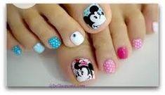 Resultado de imagen para uñas decoradas para pies