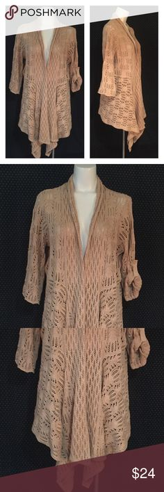 """Woman Within Open Cardigan Sweater Size M 14/16 Brand: Woman Within Size: M 14/16 Description: Open cardigan style with 3/4 sleeves Condition: NWT **Size tags vary, check measurements** Bust: 43"""" Length: 30"""" If more measurements are needed, please don't hesitate to ask! Bundle Discount Available! Reasonable offers welcome! No trades please.. Thanks for stopping by!! #Poshmark #Poshmarkapp #Poshmarkcloset Item #2045 Woman Within Sweaters Cardigans"""