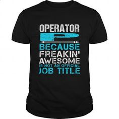 OPERATOR-P - #t shirt printer #funny t shirt. I WANT THIS => https://www.sunfrog.com/LifeStyle/OPERATOR-P-147178775-Black-Guys.html?id=60505