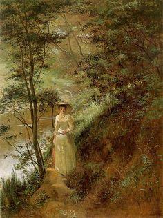 The Letter (1884) - Frederick McCubbin