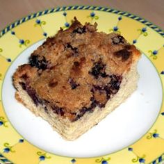 """""""I make this at least twice when blueberries are in season. Makes a great coffeecake or dessert."""" For more visit http://sh.st/wOrY8 :)"""