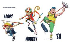 Robin Boyden's wonderful interpretations of these classic characters