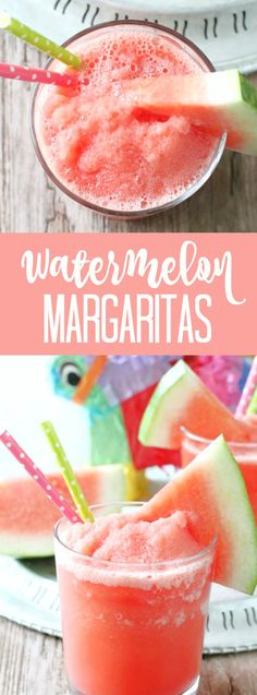 Refreshing watermelon margaritas for bridal shower or bachelorette party - wedding cocktail ideas - summer cocktails - watermelon drinks Party Drinks, Cocktail Drinks, Fun Drinks, Cocktail Recipes, Cocktail Ideas, Mixed Drinks, Drambuie Cocktails, Rumchata Cocktails, Liqueurs