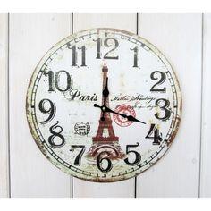 Hodiny Paris Clock, Wall, Home Decor, Watch, Decoration Home, Room Decor, Clocks, Walls, Home Interior Design