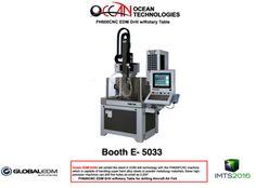 OCEAN EDM Drills FH600CNC EDM Drill w/Rotary Table