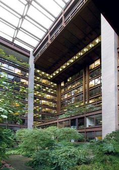 Ford Foundation, NYC | Kevin Roche John Dinkeloo and Associates : KRJDA