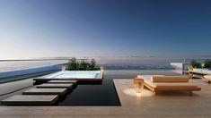 dutch design firm SEYD presents bi-directional symmetry yacht concept