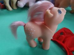 """GREECE*GREEK RARE BABY PONY COTTON CANDY """"MY LITTLE PONY"""" COLLECTION BY EL GRECO"""