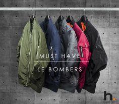 Le Bombers, le Must Have de cet Hiver, Vous n'en avez pas encore ? Découvrez la Sélection H.Landers : ► http://www.hlanders.fr/fr/recherche?controller=search&orderby=position&orderway=desc&search_query=bombers