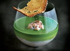 A gloriously simple restaurant quality potted salmon recipe from Phil Howard is given added brilliance by creme fraiche and watercress mousse