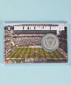 NFL Stadium Coin Cards $8.95 each