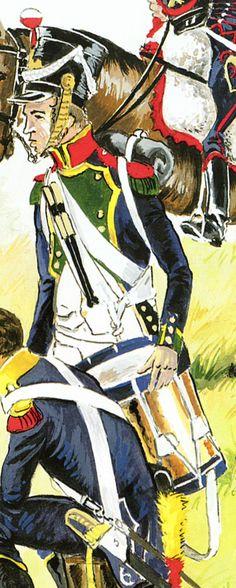 tambour 4e de ligne 1809