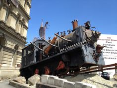 Things to do in Oamaru - come to Oamaru and check out the Steam Punk Museum. ~thebusstopkakanui