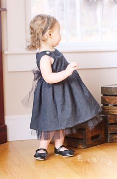 I love this fancy black Pretty Party Dress from Kelly Ballou of https://www.facebook.com/sewalittleseam/?fref=ts. Super cute! Fabric from www.facebook.com/JoAnn. PDF sewing pattern designed by Mummykins and Me. Available for instant download at www.rebecca-page.com. Perfect for all those holiday parties coming up, the Child's Pretty Party Dress has lots of options so you can dress it up or down!