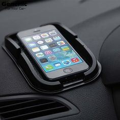 1Pc Hot New Black Car Dashboard Sticky Pad Mat Anti Non Slip Car Dashboard Holder For Gadget Mobile Phone GPS Stand Hot