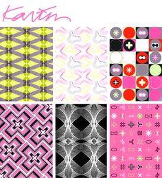 rugs by Karim Rashid...love yellow one