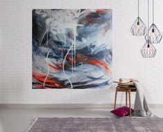 """""""Her Mind's a Jungle""""   Original Acrylic Artwork   Larissa Lea"""