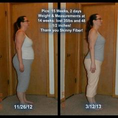 Another happy customer.  Get your Skinny Fiber tonight. Buy 2, get 1 Free or Buy 3, get 3 Free. www.lifecoachtamara.eatlessfeelfull.com