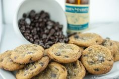 Chewy Chocolate Chip Cookie with Fleur de Sel