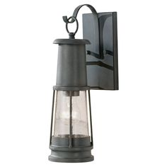The Feiss Lighting Chelsea Harbor outdoor wall fixture in storm cloud creates a warm and inviting welcome presentation for your home's exterior. This Chelsea Harbor outdoor lantern combines function and style. This fixture is a great choice f Outdoor Wall Lantern, Outdoor Wall Sconce, Outdoor Wall Lighting, Outdoor Walls, Exterior Lighting, Lantern Lighting, Beach Lighting, Luxury Lighting, Lighting Ideas