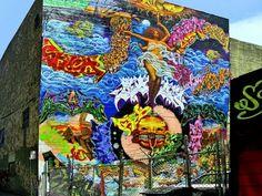 San Francisco mural...