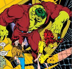Comic Book Pages, Comic Book Artists, Comic Books Art, Comic Art, Beast Boy, Hulk Smash, Marvel Comic Character, Bruce Banner, Incredible Hulk