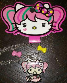 Hello Kitty New Sanrio Japanimation Loungefly necklace