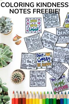 Are you looking for way to lift the spirits in your classroom and spread kindness? Now you can with these free printable colouring compliment notes! Download for free today. Character Education, Character Development, Teacher Resources, Teaching Ideas, Growth Mindset Display, Kindness Notes, Mindfulness Colouring, Growth Mindset Activities, Quote Coloring Pages