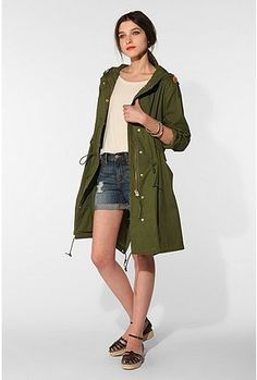 i will feel oh so safe and snazzy in this green jacket