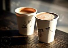 Café Cortado at Gelina Take Away, Venice, California