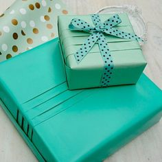 Create a professional looking gift box by simply adding couple of