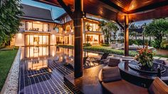 Phuket Holiday ViIla #phuket #thailand #asianluxuryvillas _____________________ This villa is located in the Royal Phuket Marina giving you access to all the shops and restaurants there as well easy transfer options to the small islands surrounding Phuket