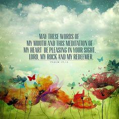 Daily prayer.