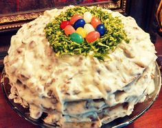 Easter cake put together by one our lovely employees at All Pro Party Consultants!