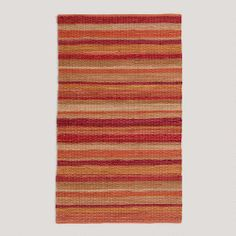 One of my favorite discoveries at WorldMarket.com: Safari Warm Stripe Rug
