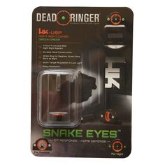Dead Ringer Heckler and Koch USP9 SightFind our speedloader now! http://www.amazon.com/shops/raeind